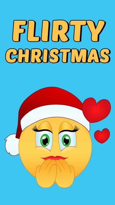 Flirty Christmas Emojis APP