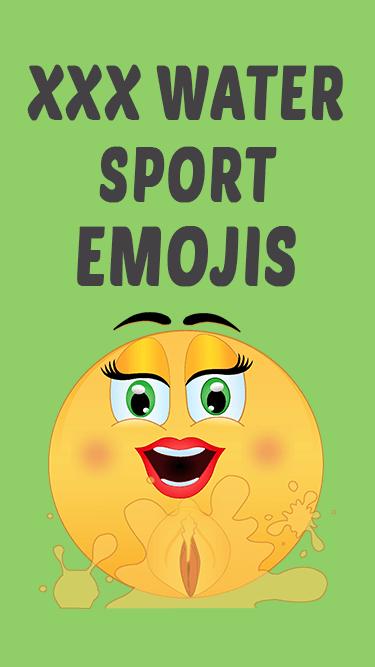 XXX Water Sports Emojis App