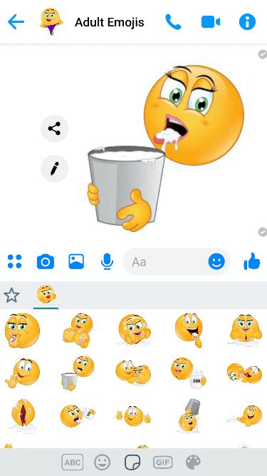 Cum 2 Emoji Keyboard
