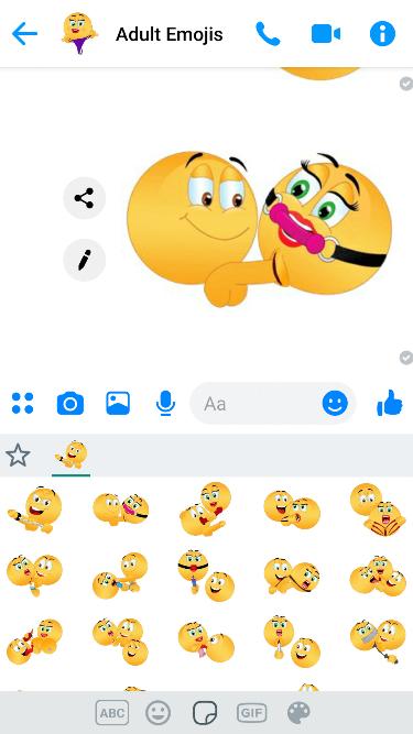 XXX Hardcore 4 Emoji Keyboard